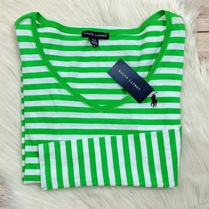 Ralph Lauren Striped Long Sleeve Shirt NWT